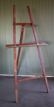 How To Build A Easel Simple