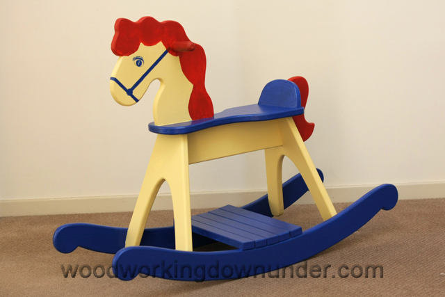 simple rocking horse plan