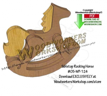 Tabletop Rocking Horse