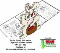 Easter Scroll Saw Patterns
