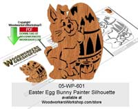 Easter Scroll Saw Pattern