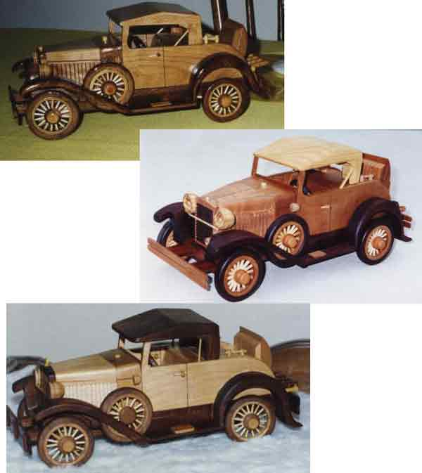 Model Car Woodworking Plan