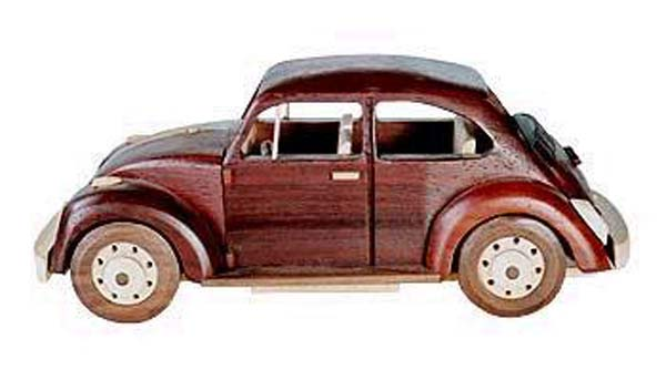 Volkswagon Bug Car Woodworking Plan