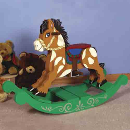 rocking horse plans