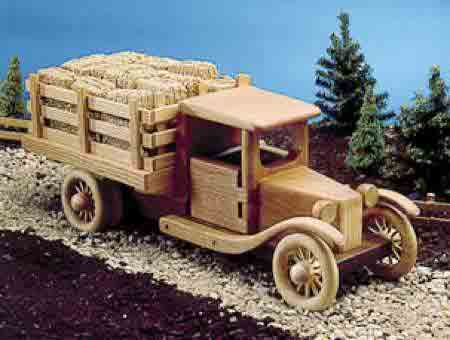 Wood Toy Truck Plans 7