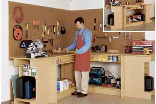 Garage Workbench Plans Home Workshop