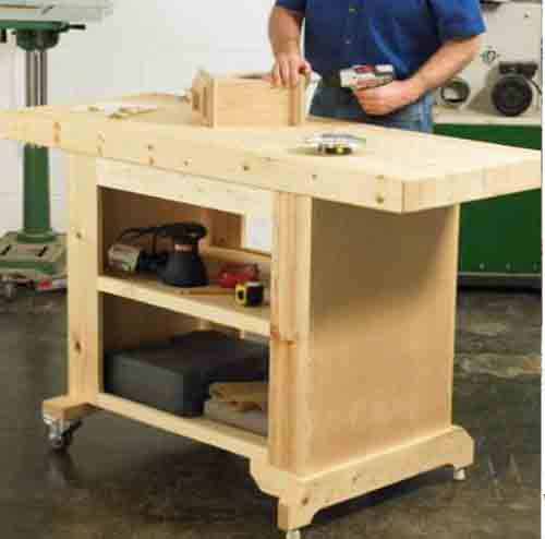 Garage Workbench Plans Budget