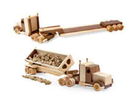 Wood Toy Truck Plans 8