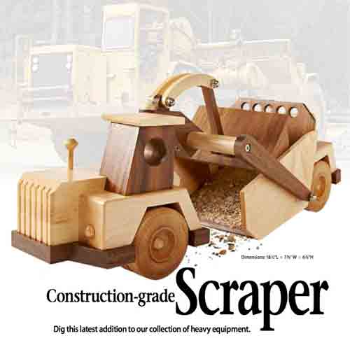 Construction Vehicle Toy Plans