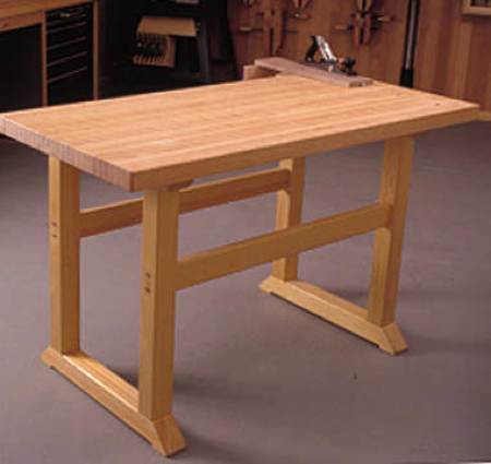 Woodshop Workbench Plans