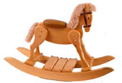54-245 - Pony Rocking Horse Woodworking Plan.