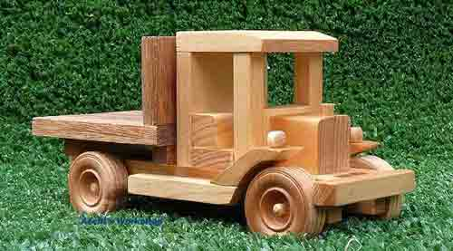 Wood Toy Truck Plans 3