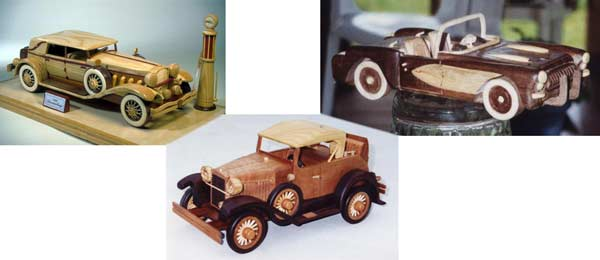 Display model car plans