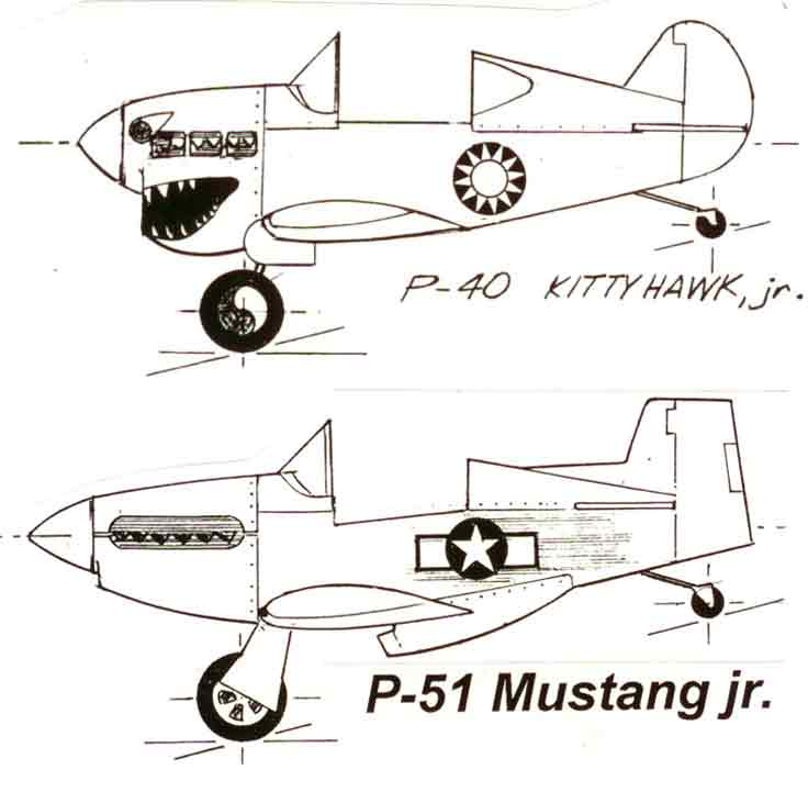 Pedal Airplane Plans for you to build a