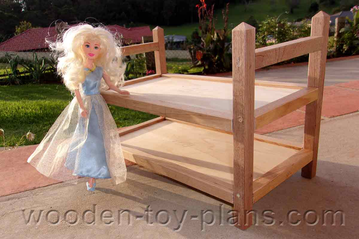 Picture of: A Doll Bunk Bed I Made Using One Inch Stock Lumber And Hand Tools