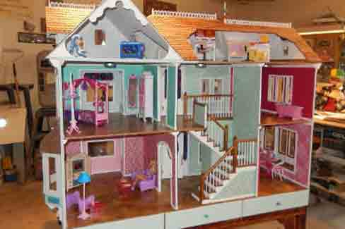 doll house plans ana white dream dollhouse diy