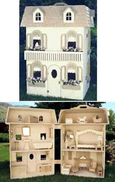 barbie dolls house plan
