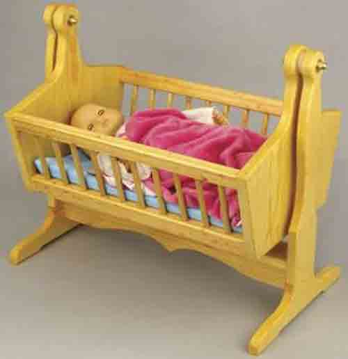 Doll Cradle Plans