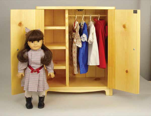 doll furniture plans armoire