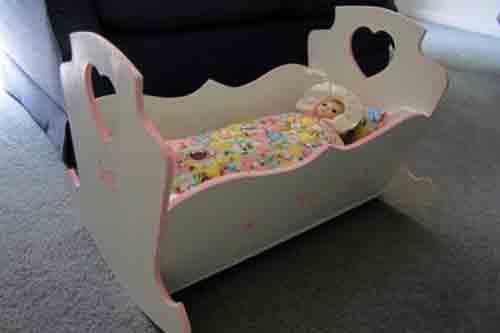 Doll Cradle Plans