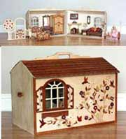 barbie dollhouse plans