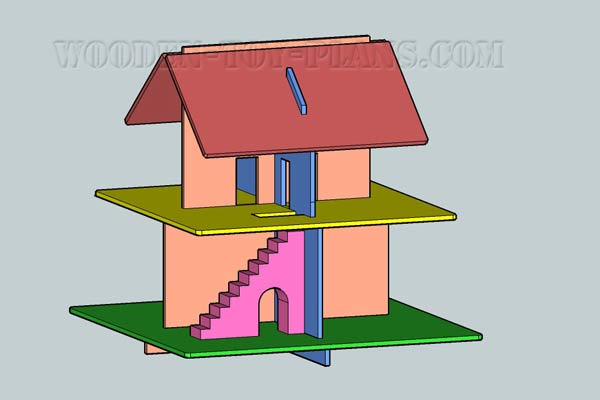 free dollhouse plans