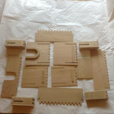 Kids Play Fort Flat Pack