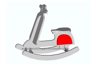 Motorcycle rocking horse plans for Scooter rocking horse