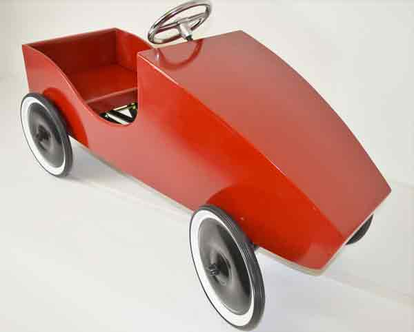 Order the wooden pedal car kit from Amazon.
