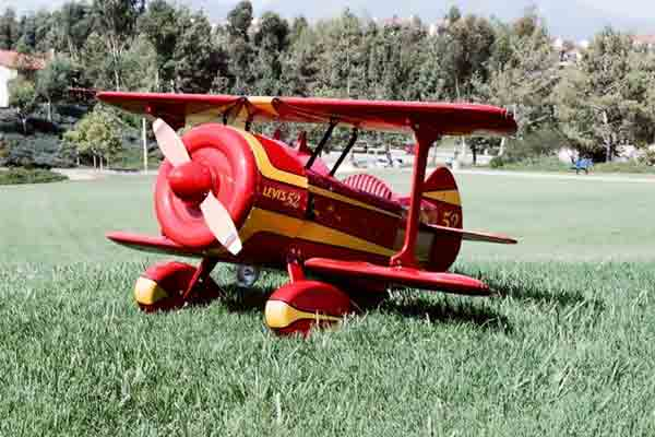 pedal airplane plans only