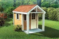 childrens playhouse plans