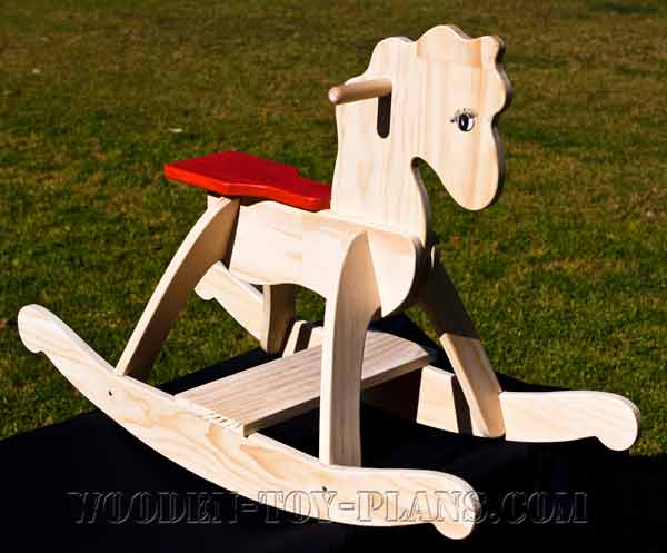 Free Rocking Horse Plans easy build novice woodworker