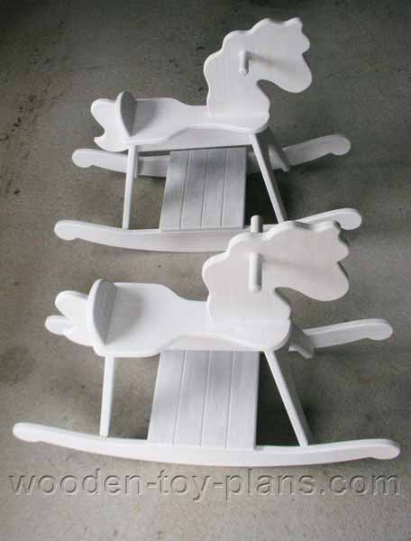 Free Rocking Horse Plan download PDF instructions included