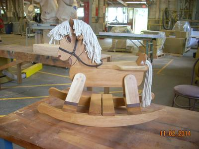 Junior Rocking Horse 2