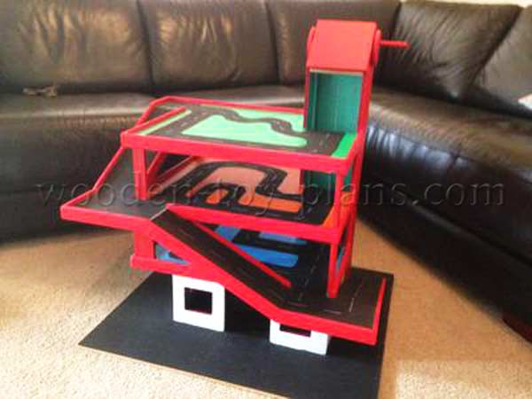toy car garage plans