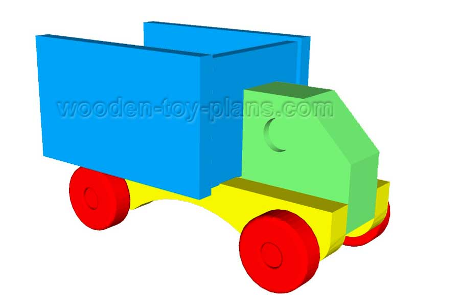graphic regarding Free Wooden Toy Plans Printable called Toy Truck Applications cost-free print geared up PDF