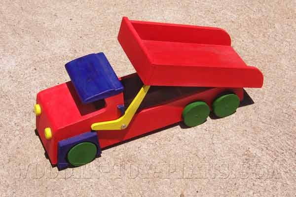 Wood Toy Truck Patterns