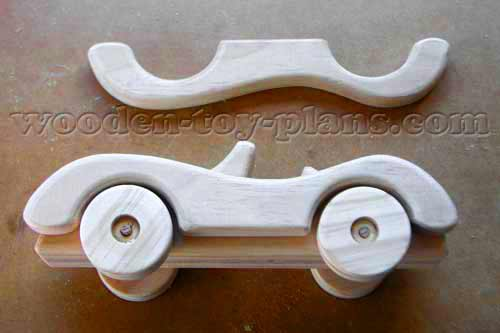 Toy Car Plans free pattern instant PDF download