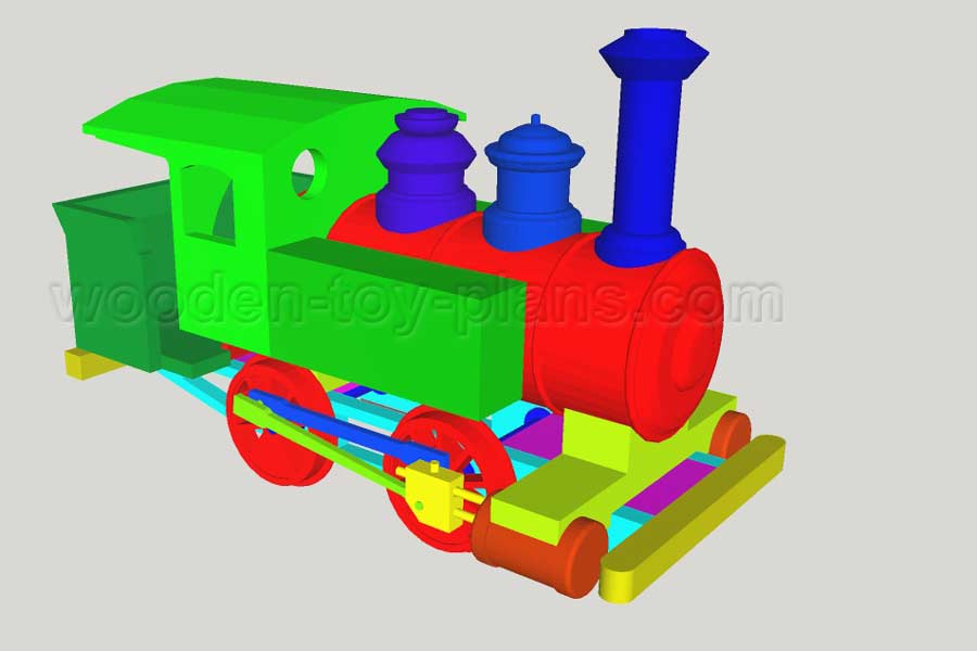 toy train plans