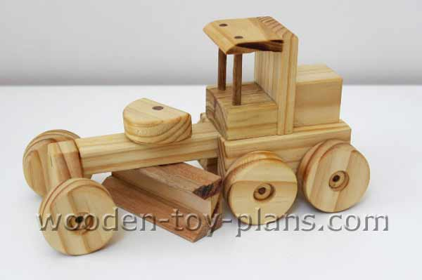 Wooden Construction Toys Free Project Plan