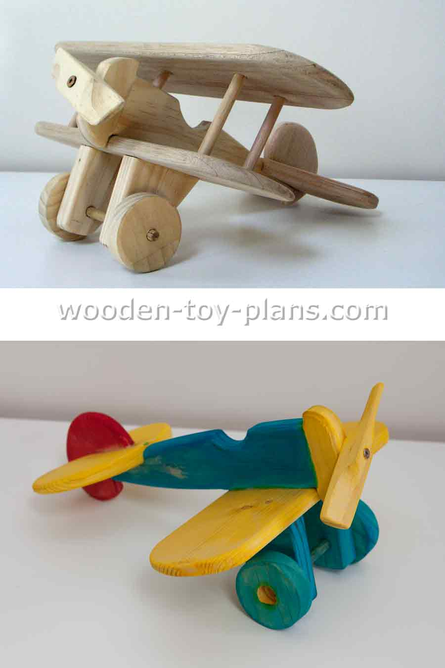 Wood Toy Airplane Plans