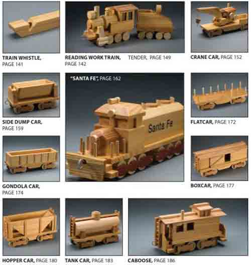 More wooden toy train plans included in books on toymakers wooden ...