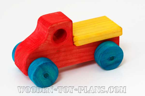 Wooden Toy Cars And Trucks : Wooden toy car plans fun project free design