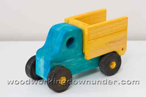 Wooden Toy Truck Plans : Toy truck plans free print ready pdf
